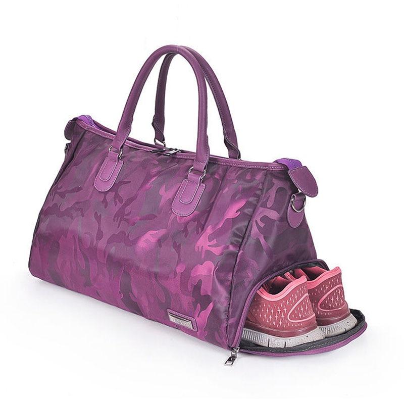 Fitness Shoulder Gym Bag for shoes Waterproof Portable Training bag men women Travel handbag Yoga sac de sport bags Tas XA510WA