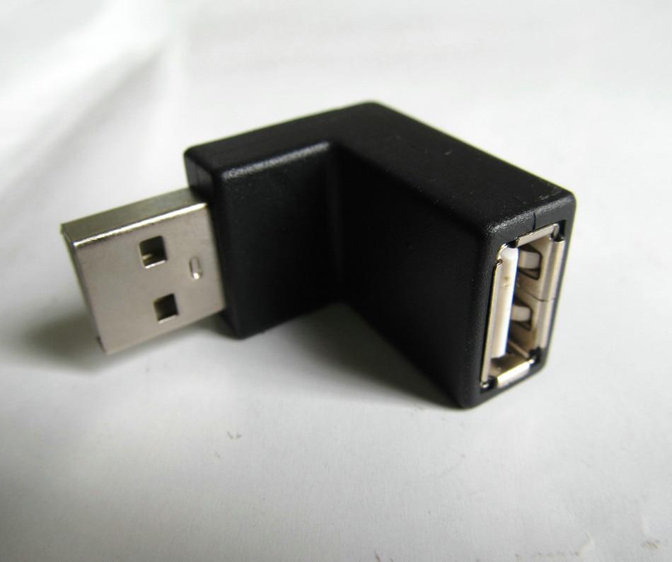3 шт. Новый USB 2.0 женщин и мужчин 180 до угла градусов адаптер Разъем для Тетрадь кабель и т. д. номер для отслеживания