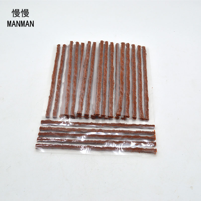 30pcs /6mm*200mm / Tyre Repairing Rubber Strips / Tire Repair Tools / rubber strips tyre repair