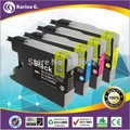 4X Compatible Ink Cartridge LC12 LC40 LC71 LC73 LC75 LC400 LC1220 LC1240 For Brother  Printer ink MFC-J6910CDW J6710CDW