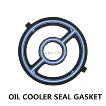Engine Oil Cooler Seal Gasket For Ford Escape Focus Fusion Ranger Transit Connect For MAZDA 3 5 6 Speed Tribute CX-7 CX-9 CX-5
