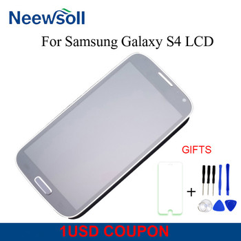 Schermo LCD Per Samsung Galaxy S4 GT-I9515 I9500 i9505 Display LCD Touch Screen Digitizer Assembly Con Telaio
