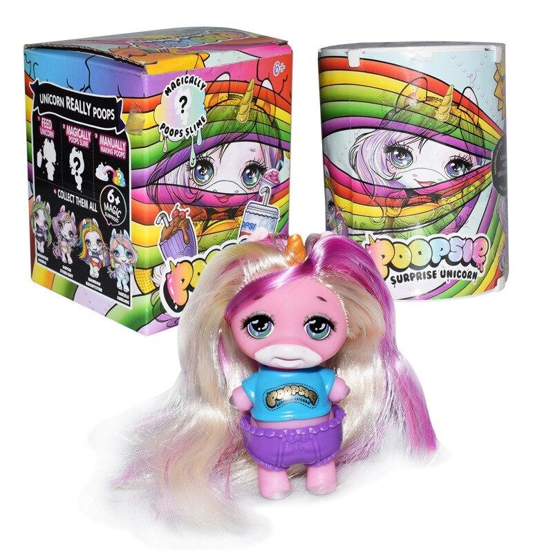 Toys & Hobbies Random Send 1set Anime Figure Pvc Poopsie Slime Surprise Unicorn Banana Action Figure