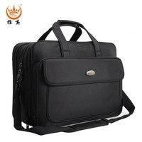 YAJIE Black Handbag Casual 17 Inch Laptop Bag Alleviate Excessive Burden Crossbody Bag Designer Travel Bags