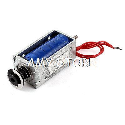 DC 12V 18W 5mm 560g Pull Type Linear Motion Solenoid Electromagnet Actuator