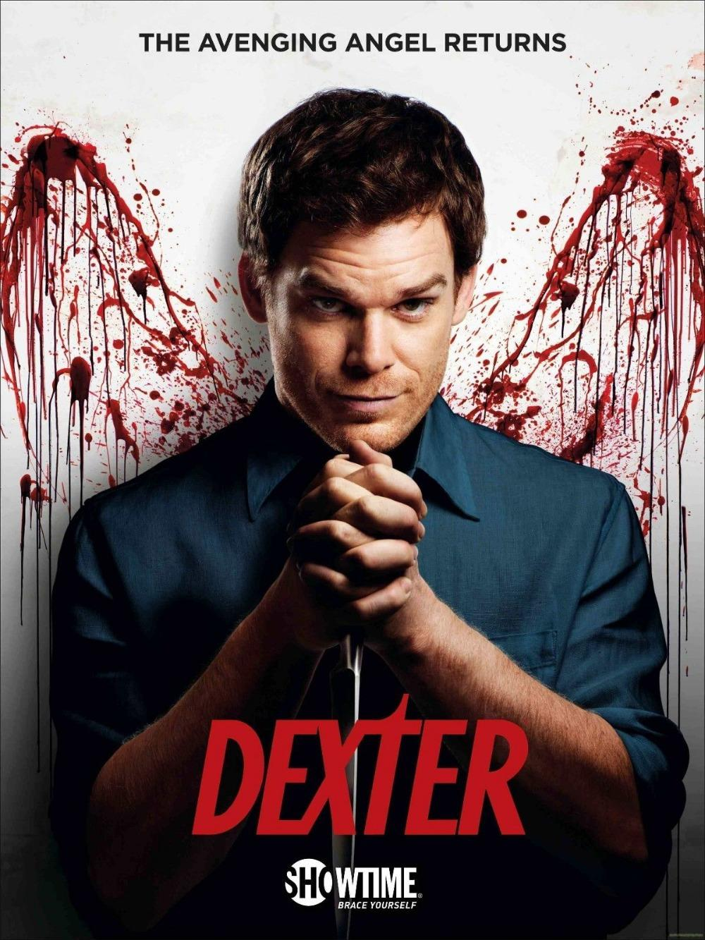 S0104 Dexter 6 Tv Series Posters Art Home Decor Cloth Print More