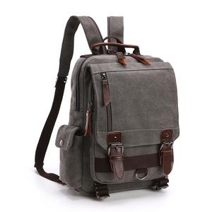 Image 5 - BERAGHINI New Fashion Men Backpack Canvas Women ckpacks School Bag Unisex Travel Bags Large Capacity Travel Laptop Backpack Bag