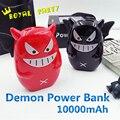 2016 banco do poder 10000 mah adorável demônio diabo pequeno powerbank carregador de bateria externa para iphone android telefone portátil bateria
