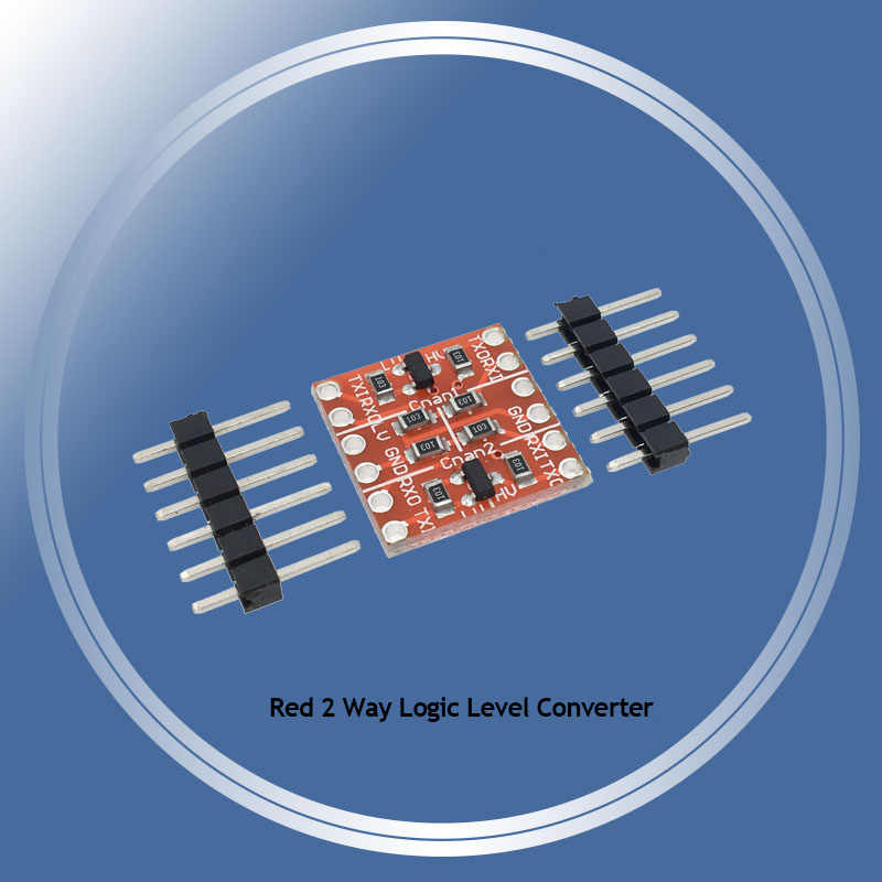 2 Channel 4 8 way IIC I2C UART SPI TTL Logic Level Converter Bi-Directional  Module 5V to 3 3V For Arduino Compatible Breadboard