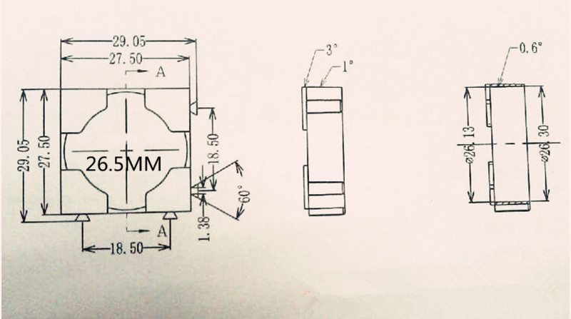 Купить с кэшбэком 10pcs/lot 26650 lithium battery universal combination fixed bracket ABS fire retardant plastic any combination DIY bracket