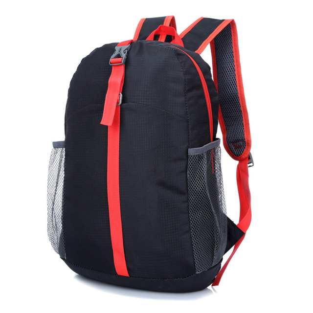 a4a7e016e7 Waterproof Nylon Lightweight Foldable Backpack Outdoor Camping Hiking  School Travel Backpacks Sports Bags For Men and Women