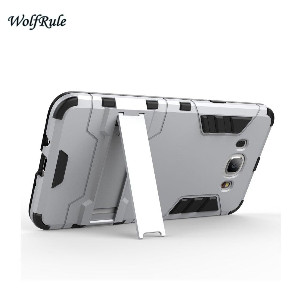 WolfRule sFor Case Samsung Galaxy J7 2016 Cover Soft TPU + Slim PC - Բջջային հեռախոսի պարագաներ և պահեստամասեր - Լուսանկար 6
