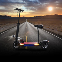48v500w Electric Scooter Over 100km Longboard Strong powerful Foldable Electric Bicycle Adult hoverboad e scooter with seat scooter scooter jumping all over the world 2 cd