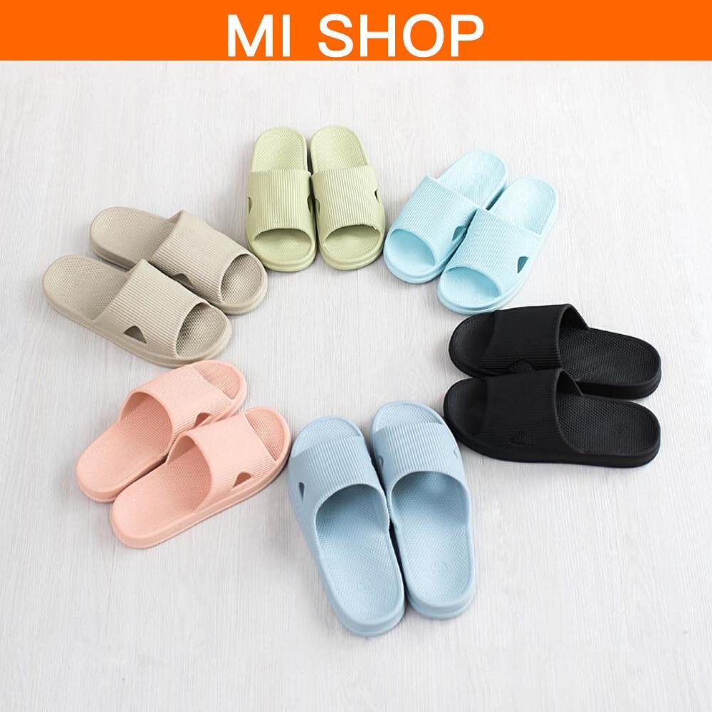 6colors Original Xiaomi One cloud home Slippers Summer Slippers Soft Flip Flops Ladies Man Sandals Casual Shoes Slip