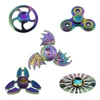 New Hot Fidget Spinner Hand Spinner EDC Metal Alloy Tri Toys Gift For Kids Adult Autism