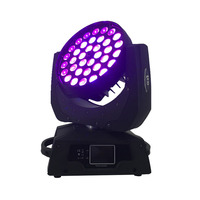 Free Shipping Led Wash Zoom Moving Head Light 36x15w Rgbw 5in1 Dmx Stage Light Wash Moving