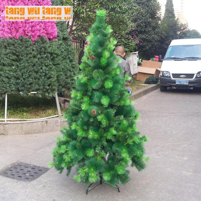 Free shipping 180cm/1.8 Meters Luxury Fat Hybrid Pine Needle Tree ...