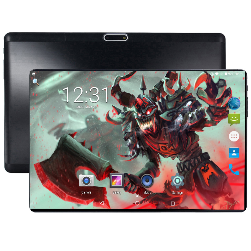 2019 New 10 Inch Octa Core Tablet 4G LTE Phone Call Tablet 4GB 64GB Dual SIM 5.0MP Bluetooth 6000mAh Wifi GPS Tablets 10 Pad