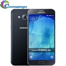 Original Unlocked Samsung Galaxy A8 A8000 Mobile Phone 5.7'' Octa Core 16.0MP Camera Android 5.1 2GB RAM 16GB ROM cellphone