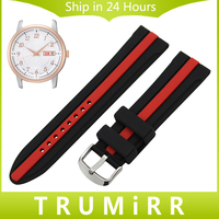 Silicone Rubber Watchband +Tool for Seiko Men Women Watch Band Wrist Strap Replacement Bracelet Black 19mm 20mm 21mm 22mm 23mm