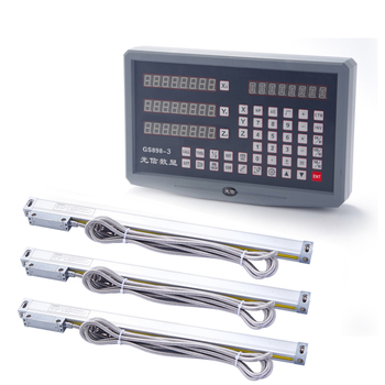 цена на DRO 2 3 Axis digital readout 0~3PCS 0~1000mm High Precision linear encode digital linear scale DRO Milling lathe machine grinder