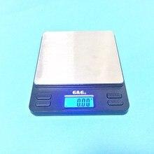 Портативные мини-электронные весы 2000 г/0,1 г золотые ювелирные изделия карманные почтовые кухонные ювелирные изделия Вес балансовая цифровая шкала