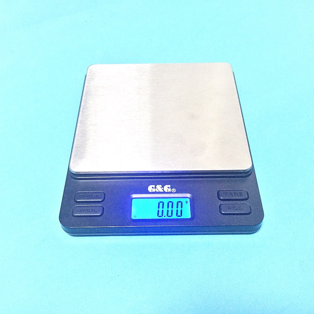 Portable Mini Electronic Balance 2000g / 0.1g Gold Jewelry Pocket Postal Kitchen Jewelry Weight Balance Digital Scale