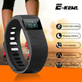 TW64 Фитнес-Деятельность Трекер Bluetooth 4.0 Flex Smart Watch Wristband Sport Смарт Браслет Шагомер Для IOS Android System