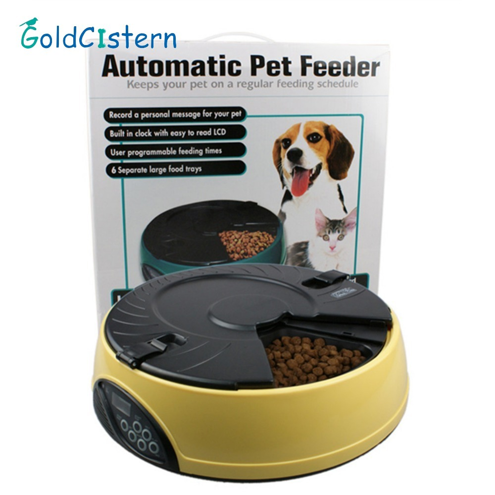 pet cat control dog feeder dispense hgd electronic pin portion automatic capacity programmable liter