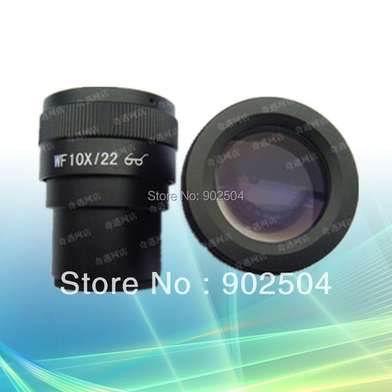 ФОТО High Eyepoint Eyepiece WF10X/22mm for Zoom Stereo Microscope with Mounting Size 30mm