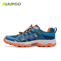 2019 New Summer Men Casual Shoes ultralight breathable Comfortable hiking river trekking mesh sneakersmen Outdoor sports shoes