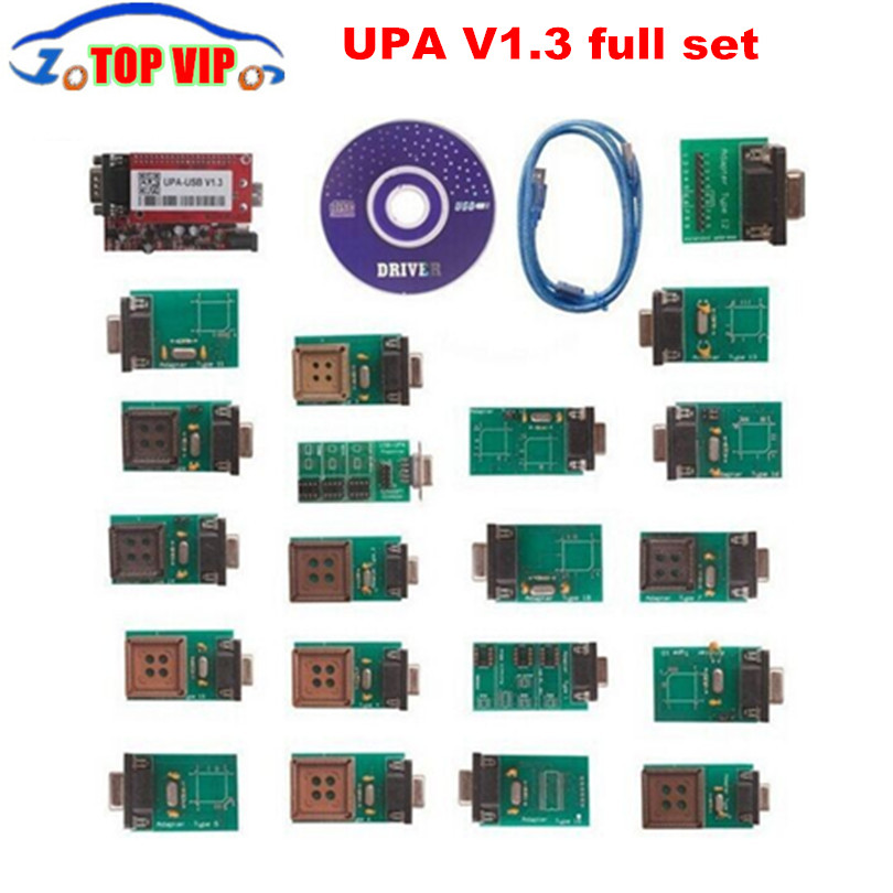 UPA 2018 New Arrival UPA Usb Programmer Diagnostic-tool UPA-USB ECU Programmer UPA USB V1.3 With Full Adapter In Stock Now все цены