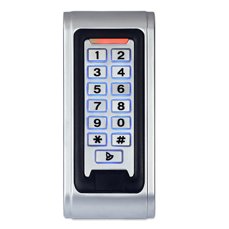 RFID Proximity Entry Lock Door Access Control System Waterproof Metal Access Controller K1