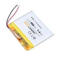 Easylander – batterie li-polymère 3.7V 380mAh, pour SONY NWZ-E345 NWZ-WH303 MWZ-E373 MWZ-E383 A864 A865 LIS1425HNPC 274237 SRS-BTV5