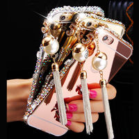 Aluminium Metal Bumper Butterfly Diamond Case For Samsung Galaxy A5 A7 2016 A3 A7 A710 A720