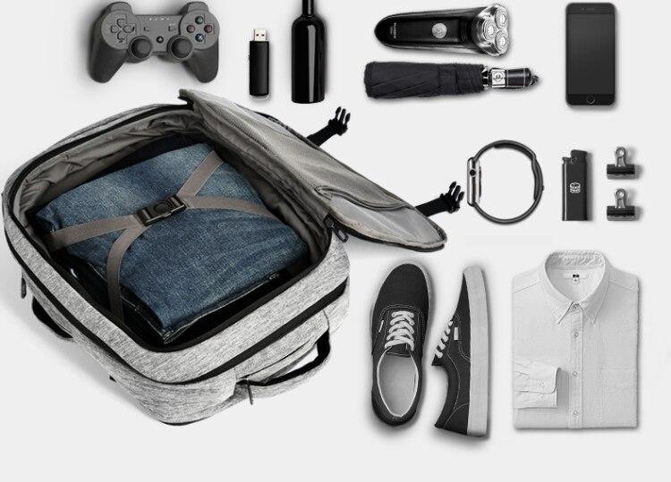 Cai Band дизайнерский водонепроницаемый рюкзак для ноутбука, женский многофункциональный рюкзак большой емкости, мужские деловые дорожные су...