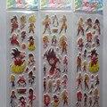 Atacado 20 pçs/lote Dragonball 3D DIY adesivos bolha, Para Crianças Festival Presente Recompensas adesivos frete grátis