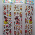 wholesale 20pcs/lot 3D Dragonball DIY bubble stickers,For Kids Festival Gift Rewards stickers free shipping