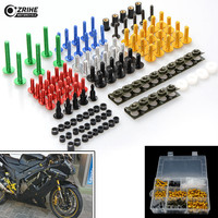 Motorcycle accessories custom fairing bolt windscreen screw for harley touring sportster vespa ktm exc yamaha r6 mt 07
