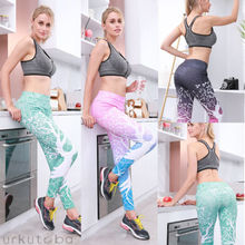 Womens  Workout Gym Leggings Tree Print Fitness Stretch Casual Pants 2019 Hot Sale New Summer