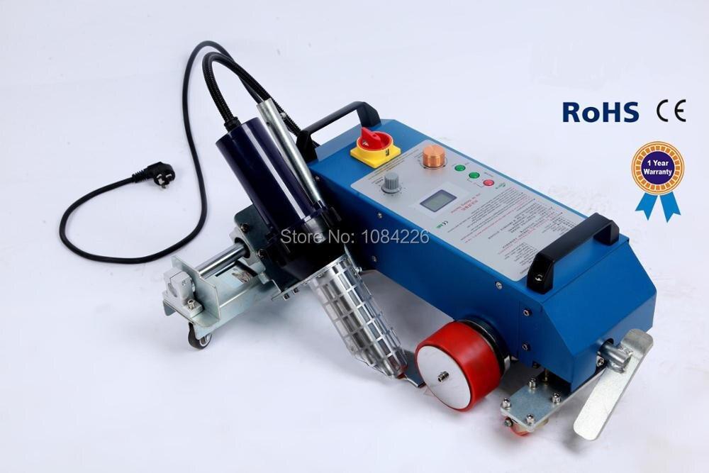 Machine de soudure de bannière de pvc de soudeuse de câble de machine de soudeuse d'air chaud 3400 W