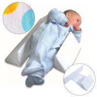 Baby Pillow Side Pillow Newborn Sleeping Position Positioning Correct Flat Head To Prevent Rollover Guard Giving Gift To Child