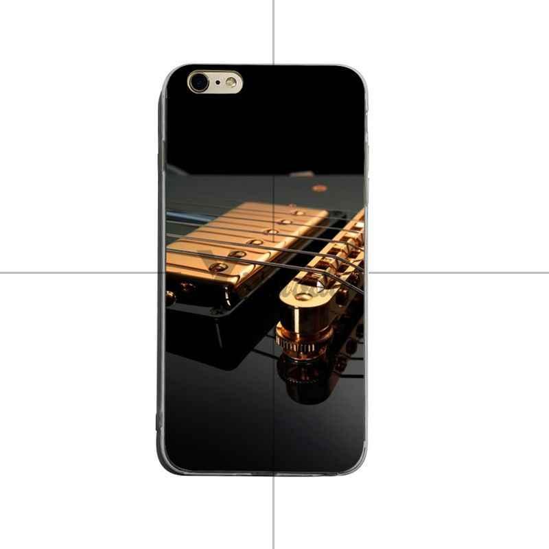 Yinuoda エディ · ヴァン · グラフィックギターラブリーソフト tpu 電話アクセサリーケース iphone 6 プラス 6 7 プラス 8 プラス x xs xr coque シェル