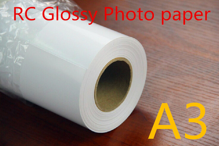 Premium 200g waterproof RC glossy photo paper roll