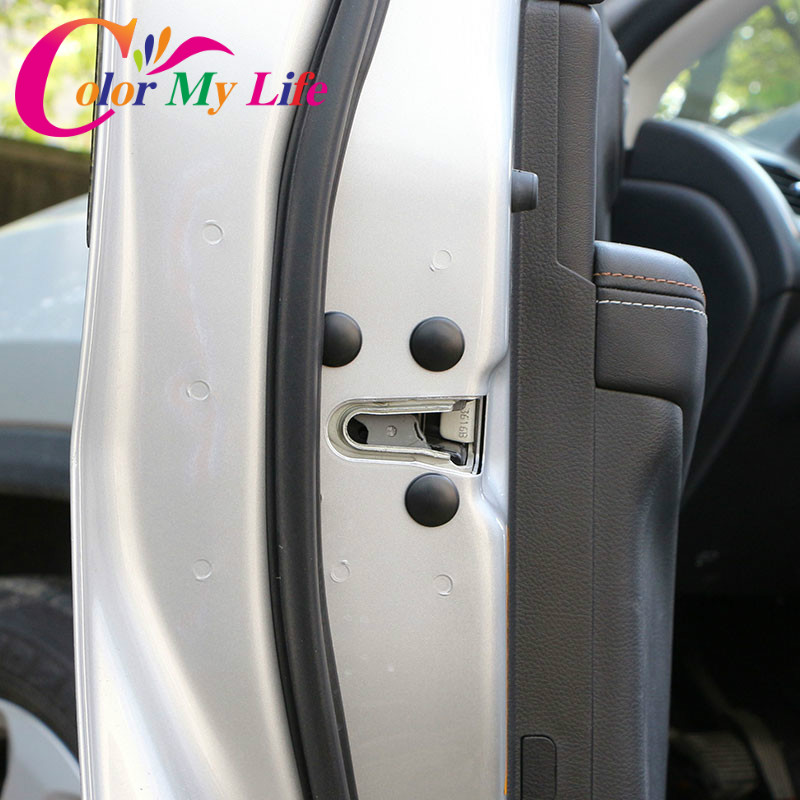 Двери автомобиля замка защиты винта протектор наклейки обложки Водонепроницаемый двери для VW Skoda место для Kia Sportage на Хундай Туксон
