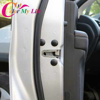 Car Door Lock Screw Protection Protector Stickers Covers Waterproof Doors for Vw Skoda Seat For Kia Sportage For Hyundai Tucson image