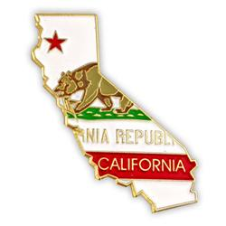 USA California lapel pin Geography gifts