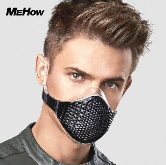 MeHow Diamond Liquid Silicone Sport Mouth Mask Unisex Anti Fog Haze Anti-Pollution pm2.5 Full seal Filter Bike Runing Sport Mask phantom sport mask s m l sizes 5 different colors for choose training sport mask unisex use mask free shipping
