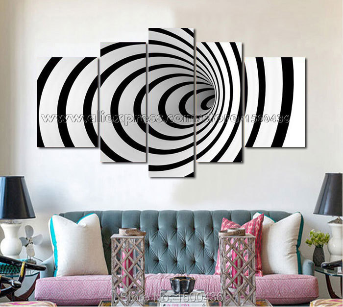 3d wall painting art dolphin hand painted black and white painting canvas modern 3d piece abstract wall art oil picture decoration home setsin calligraphy from