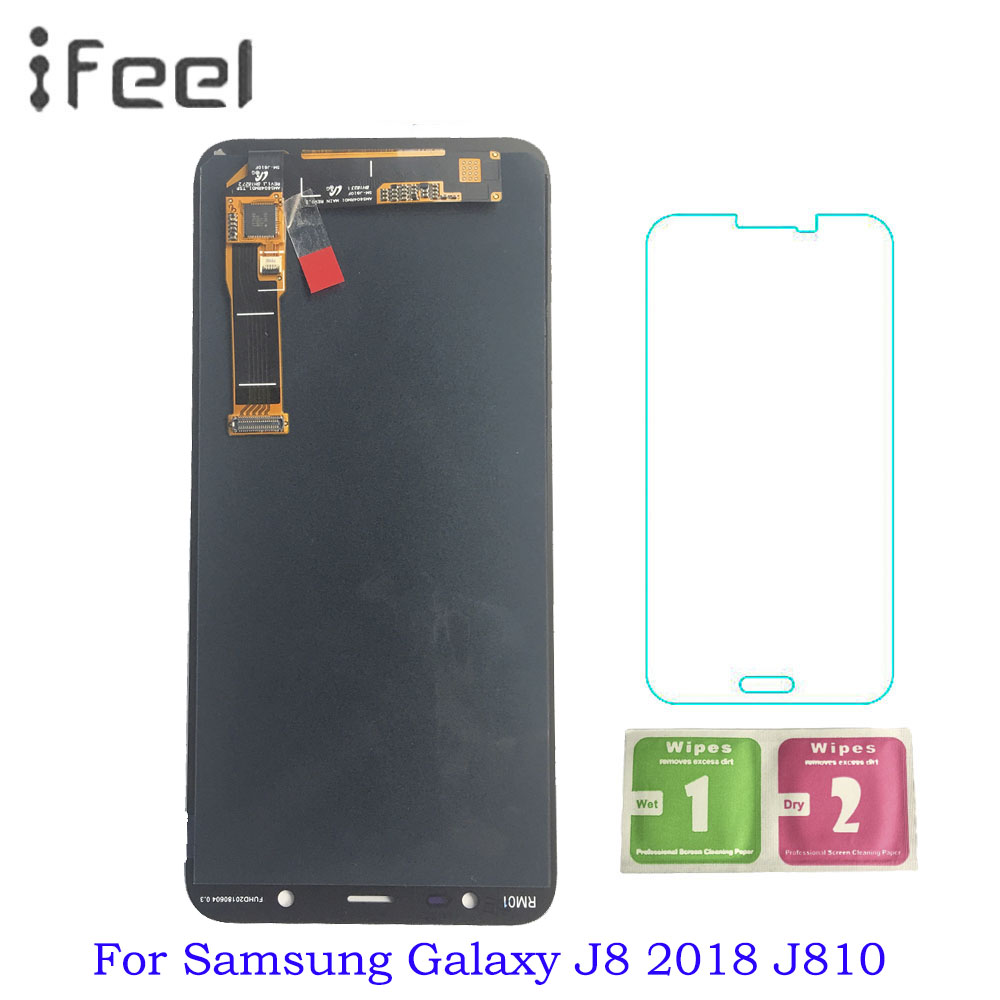 Super AMOLED 100% Tested Working LCD For Samsung J8 2018 J810 LCD Display + Touch Screen Digitizer Assembly Super AMOLED 100% Tested Working LCD For Samsung J8 2018 J810 LCD Display + Touch Screen Digitizer Assembly